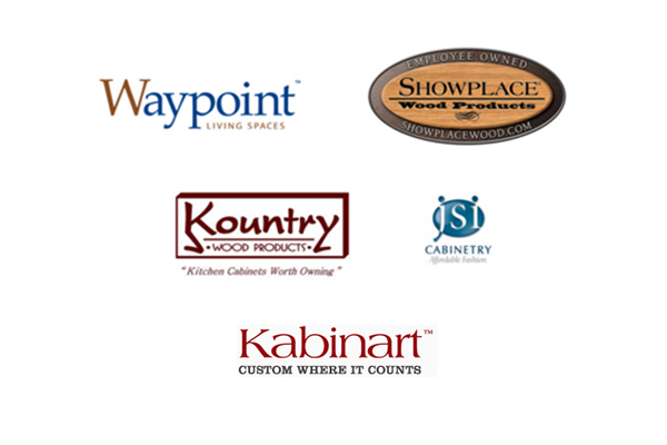 Waypoint Living Spaces | Showplace Wood Products | Kountry Wood Products | JSI Cabinetry | Kabinart
